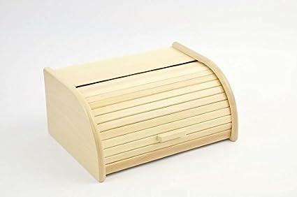Legno Naturale Chiaro : Sendez portapane in legno di faggio chiaro cassetta per il pane