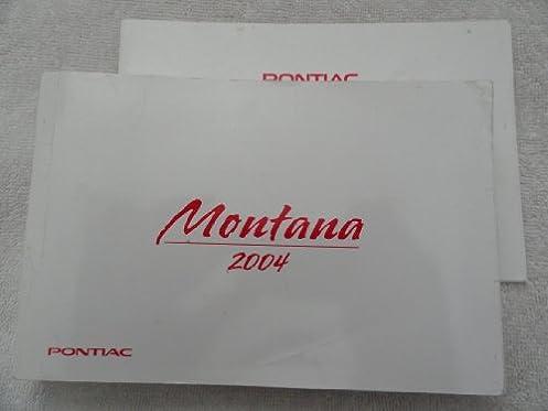 2004 pontiac montana owners manual pontiac amazon com books rh amazon com 2004 pontiac montana manual pdf 2002 Pontiac Montana
