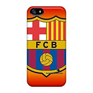 Shockproof/dirt-proof Fc Barcelona Covers Cases For Iphone(5/5s)