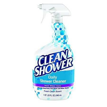 (2 Pk. Scrub Free Clean Shower Daily Shower Cleaner 32 fl oz (64 fl oz)
