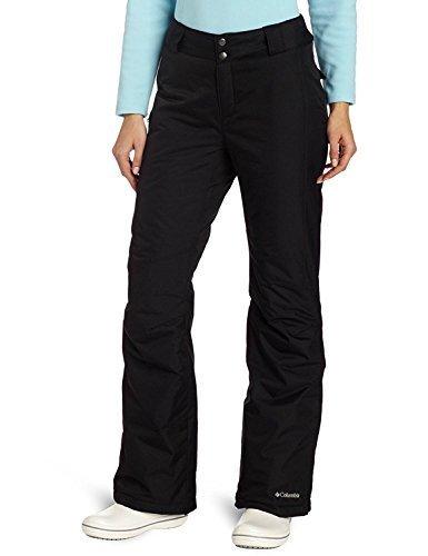 (Columbia Womens Arctic Air Omni-Tech Ski Snowboard Pants-Black-Medium)