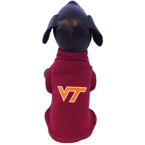 Cheap NCAA Virginia Tech Hokies Cotton Lycra Dog Tank Top, X-Small
