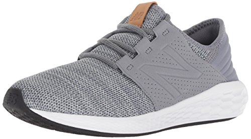 - New Balance Boys' Cruz V2 Fresh Foam Running Shoe, Gunmetal, 6.5 M US Big Kid