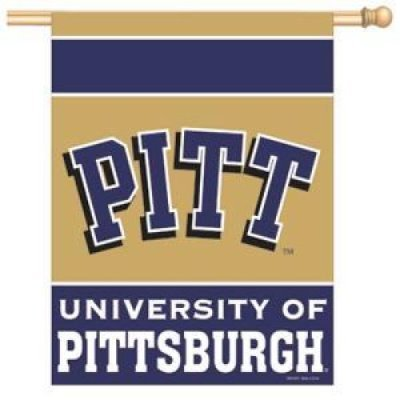 NCAA Pittsburgh Panthers 27-by-37 inch Vertical Flag ()