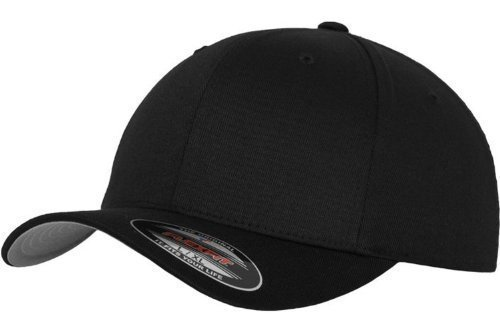 Original FLEXFIT® Baseball Cap in versch. Farben (S/M - bis 58 cm, Black) S/M - bis 58 cm,Black