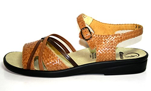 Ganter Sonnica - Sandalias de vestir para mujer marrón - beige
