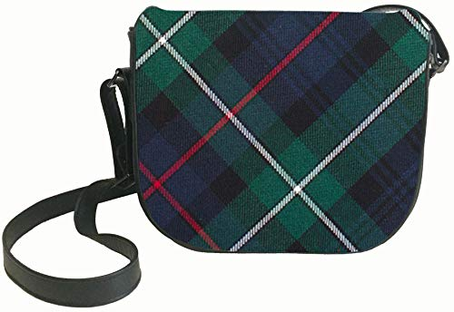 Mackenzie and with Pocket Shoulder Back Tartan with Inside Leather Bag Handbag qIpwIS4