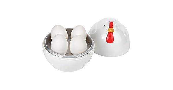 Amazon.com: Home-x diseño de pollo de microondas huevo ...