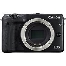 Canon EOS M3 Mirrorless Camera Body - Wi-Fi Enabled (Black)