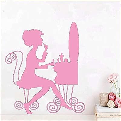 Hermoso Laddy extraíble arte vinilo pegatinas de pared para ...
