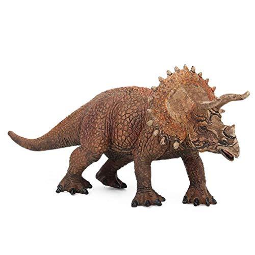 Weiyun Dinosaur Party Supplies,Educational Simulated Triceratops Model Kids Children Dinosaur Model Toy, Jurassic Park,for Children