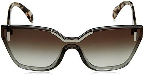 Unisex Gafas Adulto Negro Light Prada de 16Ts Sol Grey 1vq6Igw