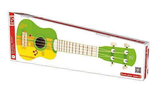 Kids Ukulele Toy Guitar For Toddlers Hape Wooden Ukulele Kids Guitar For Girls Or Boys Starter Acoustic Hawaiian Ukulele Musical Instrument Green