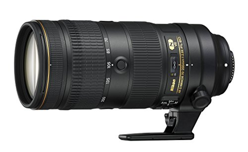 Nikon 20063 70-200mm f/2.8-22 Body Only Camera Lens, Black