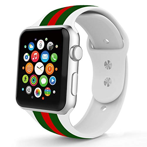 Replacement for Apple Watch Band 38mm Series 3 Silicone Women Applicable Sports Edition All Model