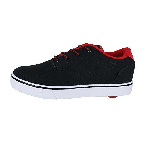 Mens Heelys Lanciano Sneaker Modo Nero / Rosso
