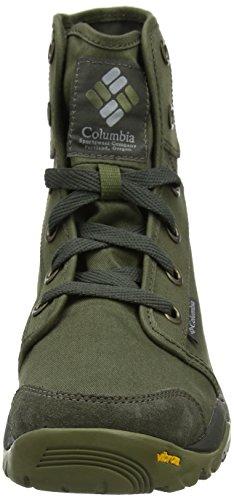 Columbia Camden Chukka, Scarpe da Arrampicata Alta Uomo Verde (Nori Rose Columbia Grey 383)