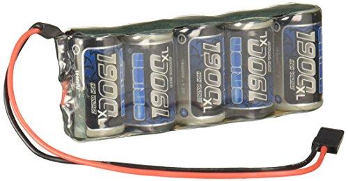 Team Orion Marathon XL 1900mAh NiMH 5C Flat Rx Pack with Univ Battery