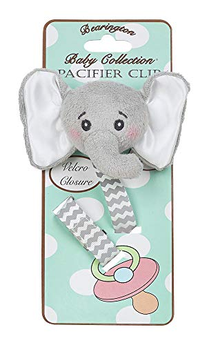 Bearington Baby Lil' Spout Pacifier Clip (Baby Stuff For Both Genders)