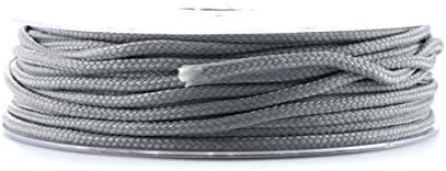 PARACORDE – Cuerda Escalada 2.5 mm Gris claro x1 m: Amazon.es ...