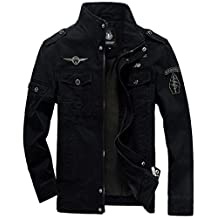 Men's High Quality Military Style Air Force Jacket Military Coat Tops Bomber Jackets