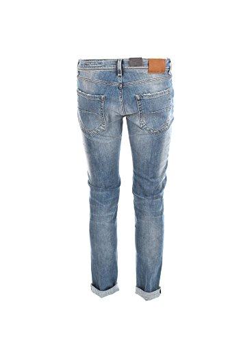 Jeans Uomo 0/zero Construction 34 Denim Fabaco/s Ssw541 Primavera Estate 2018