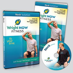 Neck Isolation Exercise and Stretch Workout DVD to Lessen Pain, Increase Strength, Improve Flexibility and Range of Motion with Aaron Wright (Exercises To Increase Range Of Motion In Shoulder)