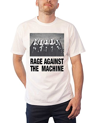 Rage Against the Machine T Shirt Nuns and Guns Band for sale  Delivered anywhere in Canada