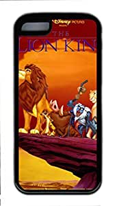 iCustomonline Case for iPhone 5C (TPU), The Lion King Stylish Durable Case for iPhone 5C (TPU)