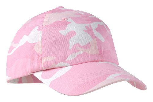 port-authority-camouflage-cap-pink-camo-osfa