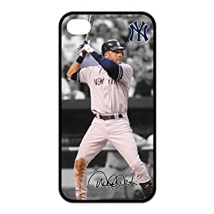 Derek Jeter MLB New York Yankees Iphone 4/4S Case Back Cover Protective Cases at NewOne