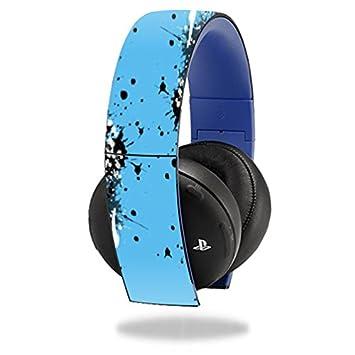 MightySkins - Carcasa para Sony PS4, protección para auriculares inalámbricos, duradera, color dorado: Amazon.es: Informática