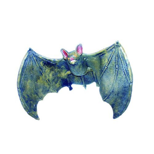 Smiffys New Hanging Flying Bat 22Inch Halloween Decoration Prop -