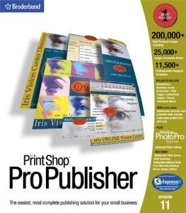Mindscape Print Shop Pro Publisher 2001