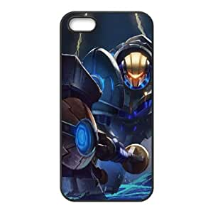 League Of Legends Full Metal Jayce iphone 5 5S Cell Phone Case Black Phone Accessories JV1511G1