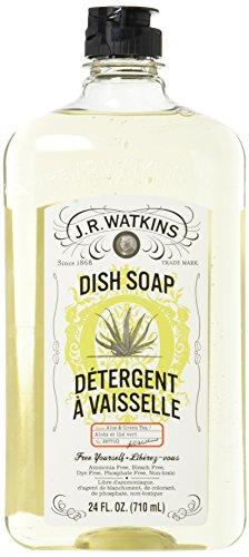 J.R. Watkins Liquid Dish Soap, Aloe & Green, Tea 24 ounce (Pack of (Aloe Dishwashing Liquid)