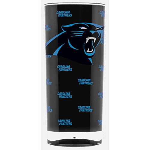 Duck House NFL Carolina Panthers 16oz Insulated Acrylic Square Tumbler