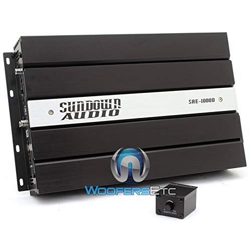 SAE-1000D - Sundown Audio Monoblock 1000W RMS Digital Class D Amplifier (4 Ohm Champion Series)