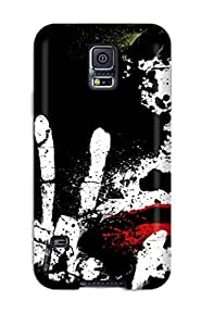 6387274K12049213 New Fashionable JeremyRussellVargas Cover Case Specially Made For Galaxy S5(the Joker)