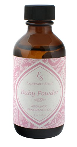 Scented Powder Scents (Expressive Scent Scented Home Fragrance Essential Oil, Baby Powder 2 oz)