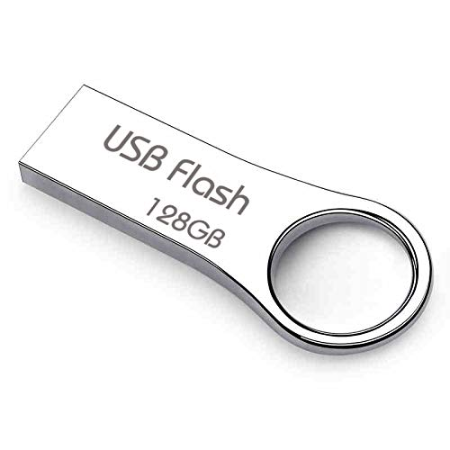 128GB Full Metallic USB 2.0 Flash Drive with Keychain(PAI 28)