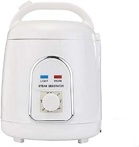 KKTECT Sauna Steamer Portable Pot 1.5-1.8 Liters Suit Home SPA Shower 110V (US Plug)