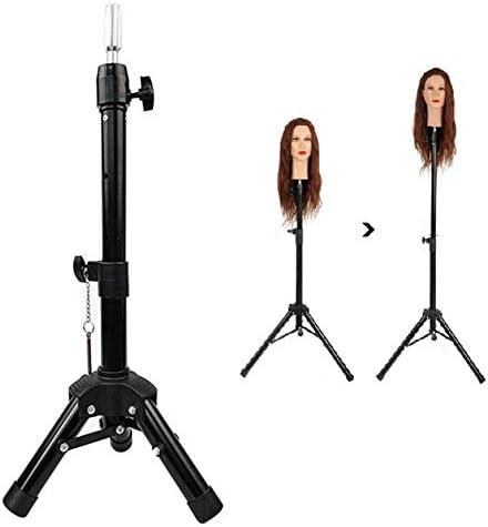JNML Kappers Pruik Display Verstelbare Mannequin Statief Stand Canvas Blok Training Pop Oefenpop Hoofd Pruik Stand voor Kosmetiek