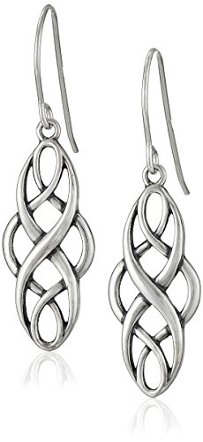 Sterling Silver Celtic Design Earrings