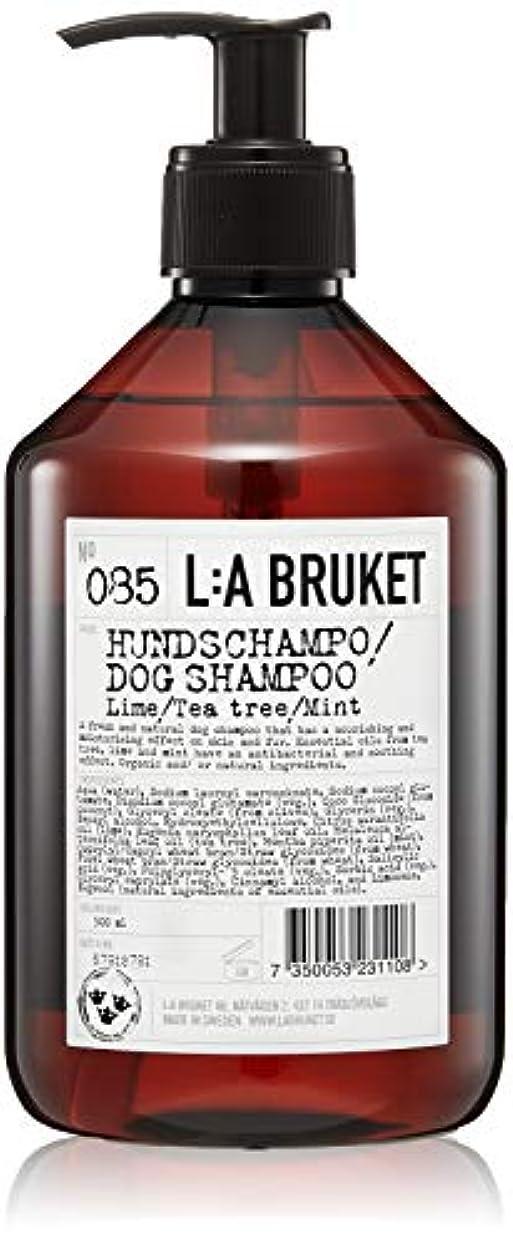 ドリルコンピューター激しいL:a Bruket (ラ ブルケット) ドッグシャンプー(ライム?ティーツリー?ミント)500ml