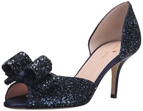 Kate Spade Wedding Shoes (kate spade new york Women's Sela Dress Pump, Navy, 8.5 M US)