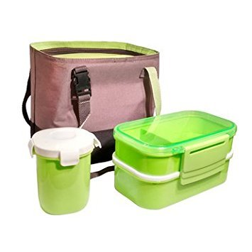 Insulated Bentobox Divided Containers Cutlery product image