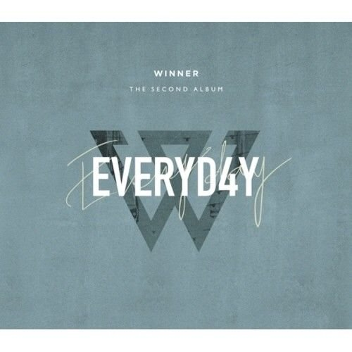 Movie Star Postcard Photo - Winner - [Everyd4y] 2nd Album DAY Ver CD+Sleeve+116p PhotoBook+28p LyricsBook+5p PostCard+1p PolaroidCard+2p PhotoCard+1p Selfie PhotoCard+1p Sticker K-POP Sealed