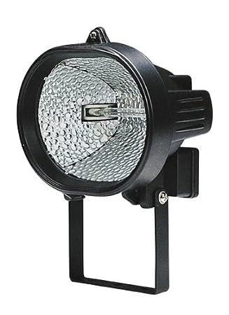Maurer 88178 - Proyector Halógeno Oval Con Fijación, 120W, Negro ...