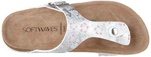 Softwaves 274 494 - Mules Mujer plateado (silver)